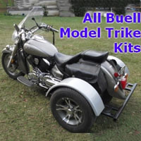 Buell Motorcycle Trike Kit - Fits All Models