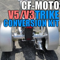 CF Moto V5/V3 Motorcycle Trike Conversion Kit - 2006 or Newer