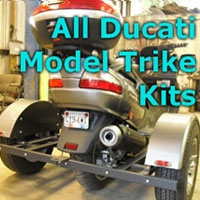 Ducati Scooter Trike Kit - Fits All Models