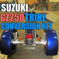 Suzuki GZ250 Motorcycle Trike Conversion Kit