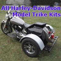 Harley-Davidson Motorcycle Trike Kit - Fits All Models