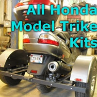 Honda Scooter Trike Kit - Fits All Models