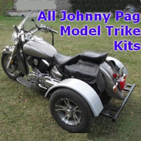 Johnny Pag Motorcycle Trike Kit - Fits All Models