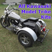 Kawasaki Motorcycle Trike Kit - Fits All Models