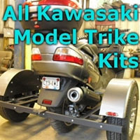 Kawasaki Scooter Trike Kit - Fits All Models