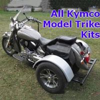 Kymco Motorcycle Trike Kit - Fits All Models