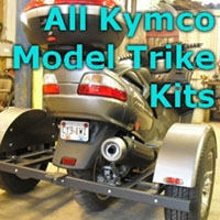 Kymco Scooter Trike Kit - Fits All Models