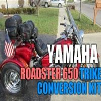 Yamaha Roadster 650 Motorcycle Trike Conversion Kit