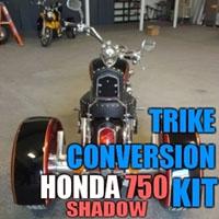 Honda 750 Shadow Motorcycle Trike Conversion Kit