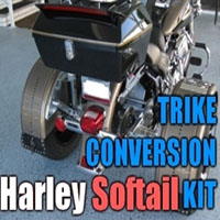 Harley Davidson Softail Motorcycle Trike Conversion Kit