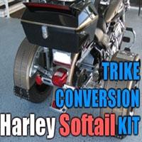 Harley Davidson Softail Motorcycle Trike Conversion Kit