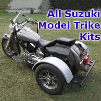 Suzuki Motorcycle Trike Kit - Fits All Models