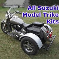 Suzuki Motorcycle Trike Kit - Fits All Models