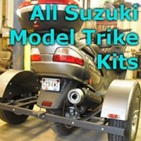 Suzuki Scooter Trike Kit - Fits All Models