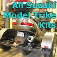 Suzuki Scooter Trike Kit - Fits All Models