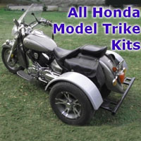 Honda Motorcycle Trike Kit - Fits All Models