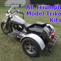Triumph Motorcycle Trike Kit - Fits All Models