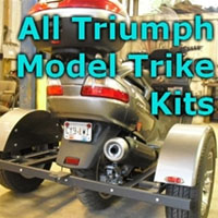 Triumph Scooter Trike Kit - Fits All Models