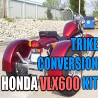 Honda VLX 600 Motorcycle Trike Conversion Kit