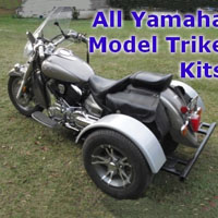 Yamaha Motorcycle Trike Kit - Fits All Models