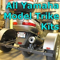 Yamaha Scooter Trike Kit - Fits All Models