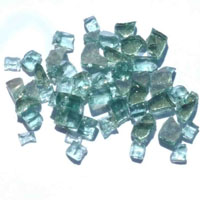 High Grade Green Reflective Arctic Flame Glass