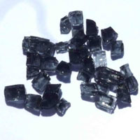 High Grade Black Arctic Flame Glass