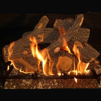 High Grade Canyon Oak 18in Glo-Fire Gas Logs
