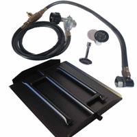 High Grade 18in Stainless Steel Burner Kit