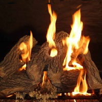 High Grade Kingston 18in GloFire Gas Logs