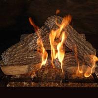 Split Oak 18in Glo-Fire Gas Logs