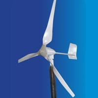 WG700 Wind Turbine Generator 24V with Power Charge Controller CD5.0