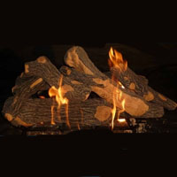 High Grade Canyon Oak 30in Glo-Fire Gas Logs