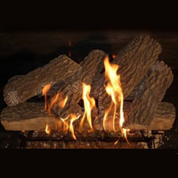 High Grade Split Oak 30in Glo-Fire Gas Logs