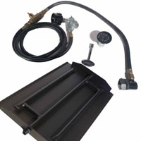 High Grade 18in Powder Coated Steel Burner Kit