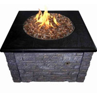 High Grade 36in KD Fire Pit with 36in Top