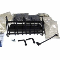 "High Grade Hearth Kits 24"" See-Thru Burner"