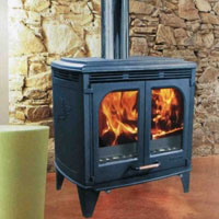 High Grade Glo-Fire Mustang Large Non-Catalytic Wood Stove