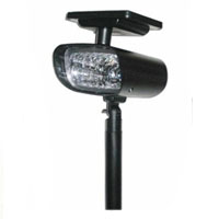 Set of 2 4-LED Super Bright Solar Adjustable Spot Lights