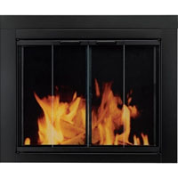 Brand New Ascot Fireplace Glass Doors