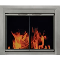 Brand New Colby Fireplace Glass Door