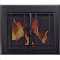 Brand New Easton Fireplace Glass Door