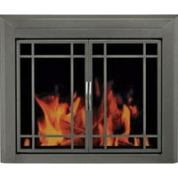 Brand New Edinburg Fireplace Glass Doors