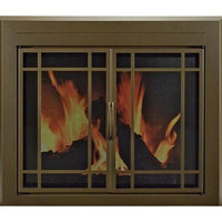 Brand New Enfield Fireplace Glass Door