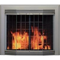 Brand New Galena Fireplace Glass Door