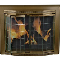 Brand New Grandior Fireplace Glass Door