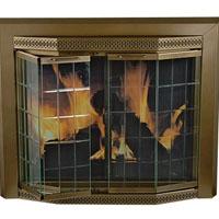 Brand New Grandior Fireplace Glass Door