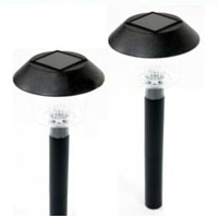 Set of 24 Anti-Heat Garden Outdoor Solar Landscape Lights
