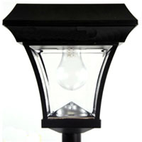6.5 FT  Outdoor Garden Solar Lamp Light Post