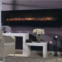 Dream Flame 94in Electric Wall Fireplace